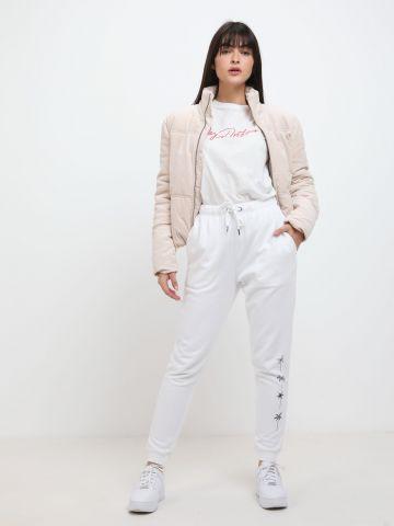 מכנסי טרנינג עם דקלים של BILLABONG