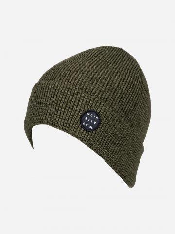 כובע גרב עם פאץ' לוגו של QUIKSILVER