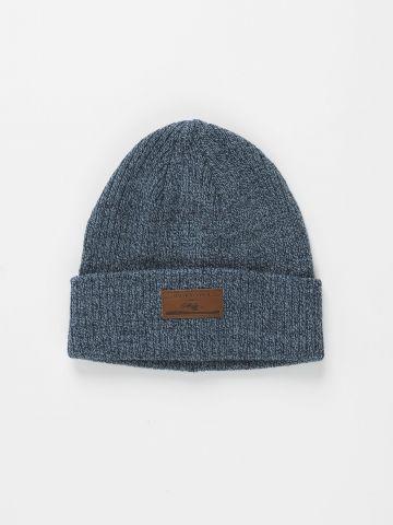 כובע גרב עם פאץ' לוגו / גברים של QUIKSILVER
