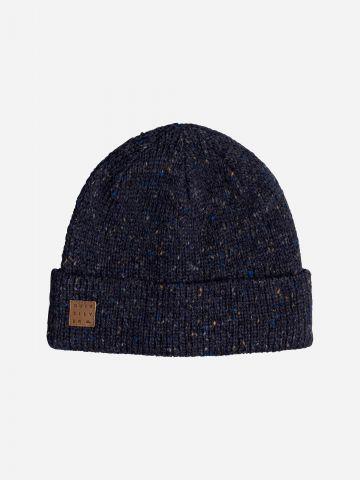 כובע גרב צמר עם לוגו של QUIKSILVER