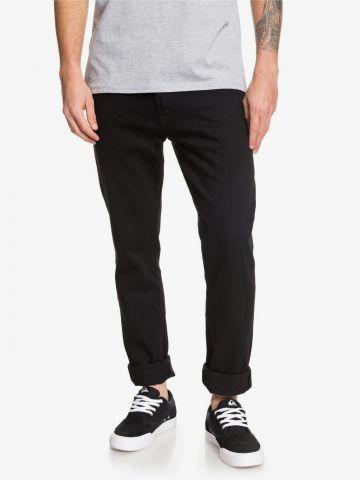 ג'ינס בגזרת סלים עם קיפול של QUIKSILVER