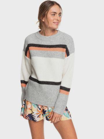 סוודר קולור בלוק בדוגמת פסים של ROXY