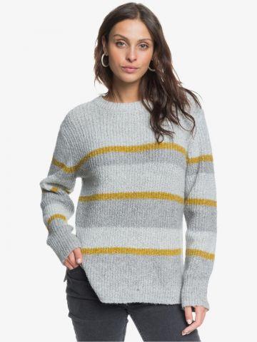סוודר ריב פסים של ROXY