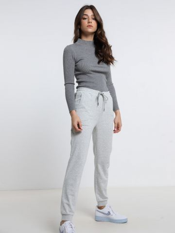 מכנסי טרנינג עם לוגו של ROXY
