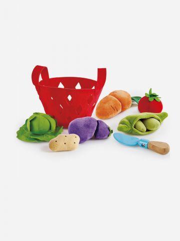 משחק דמיון באוכל - סלסלת ירקות HAPE של TOYS
