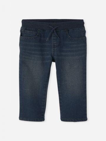 מכנסי ג'ינס ארוכים עם גומי / 6M-5Y של THE CHILDREN'S PLACE