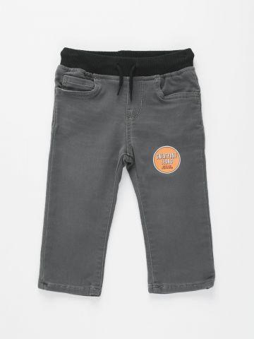 ג'ינס סטרץ' עם גומי / 6M-5Y של THE CHILDREN'S PLACE
