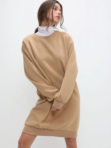 שמלת מיני סווטשירט של TERMINAL X
