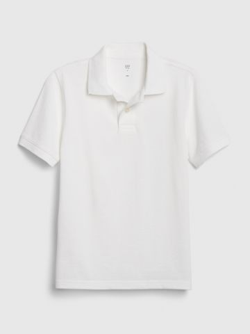 חולצת פולו חלקה / בנים של GAP