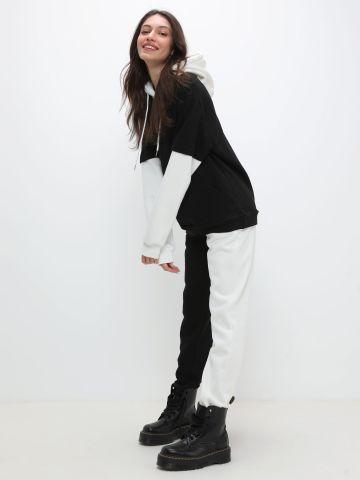 מכנסי טרנינג קולור בלוק של TERMINAL X