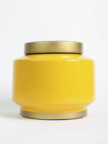 צנצנת קרמיקה עם הדפס זברה של FLORALIS