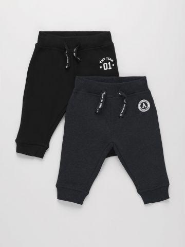 מארז 2 מכנסי טרנינג עם הדפס / 3M-4Y של THE CHILDREN'S PLACE