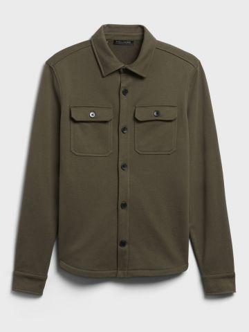 חולצה מכופתרת עם כיסים של BANANA REPUBLIC
