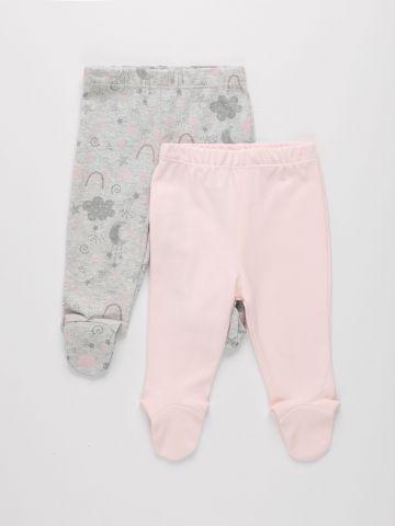 מכנסי טרנינג עם רגליות / 0M-18M של THE CHILDREN'S PLACE