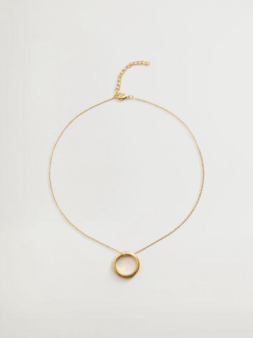 שרשרת תליון טבעת / נשים של MANGO