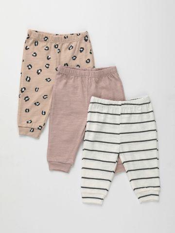 מארז 3 מכנסיים ארוכים / 0-2Y של TERMINAL X KIDS