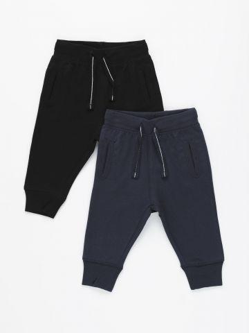 מארז 2 מכנסי טרנינג ארוכים / 6M-3Y של FOX