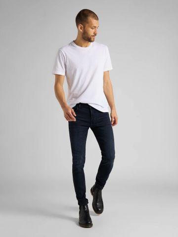 ג'ינס סקיני בשטיפה כהה של LEE