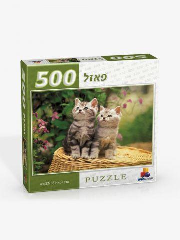 פאזל 500 חלקים-חתולים של TOYS