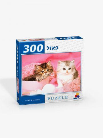 פאזל 300 חלקים-גורי חתולים של TOYS