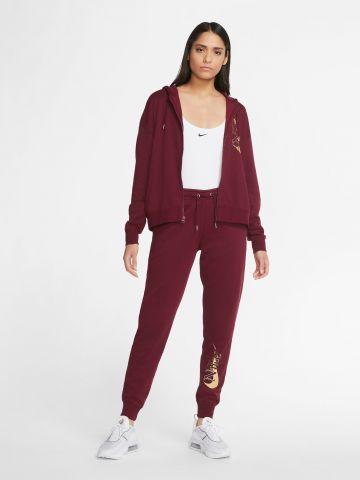 מכנסי טרנינג עם לוגו Fleece של NIKE