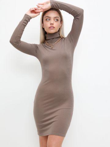 שמלת מיני עם צווארון גולף של TERMINAL X