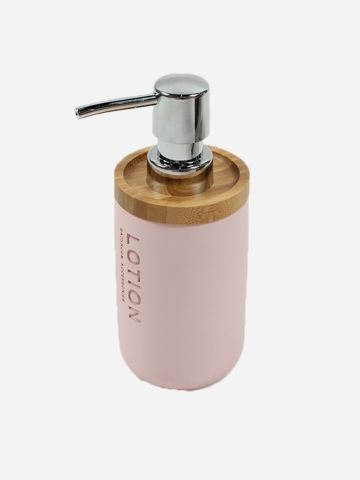 דיספנסר סבון עם כיתוב Lotion של MINENE