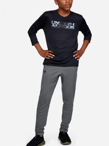 מכנסי אימון עם לוגו של UNDER ARMOUR
