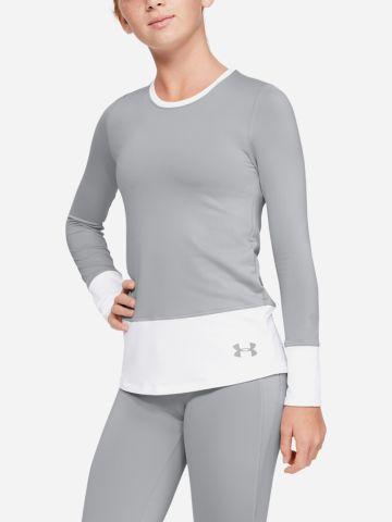 חולצת אימון קולור בלוק ColdGear / בנות של UNDER ARMOUR