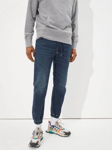 ג'ינס ארוך עם גומי של AMERICAN EAGLE