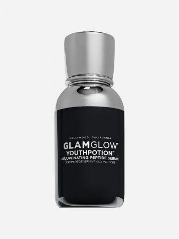 סרום פפטידים לחידוש ושיקום העור Youthpotion rejuvenating peptide serum של GLAMGLOW