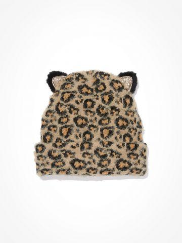 כובע גרב פלאפי בדוגמא מנומרת / נשים של AMERICAN EAGLE