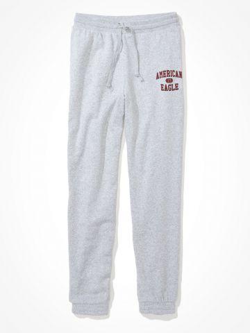 מכנסי טרנינג עם לוגו / נשים של AMERICAN EAGLE