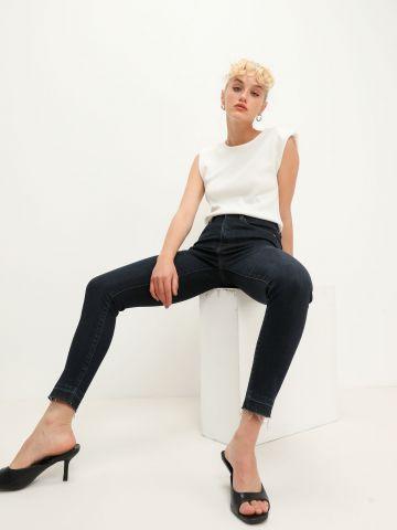 ג'ינס סקיני בגזרה גבוהה של BANANA REPUBLIC