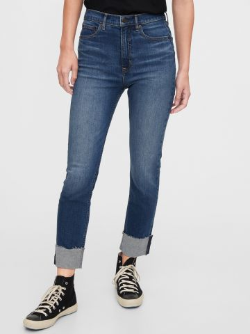ג'ינס בגזרה גבוהה Cigarette של GAP