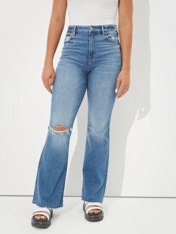 ג'ינס בגזרה גבוהה של AMERICAN EAGLE
