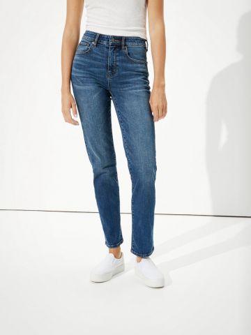 ג'ינס Slim ארוך בגזרה ישרה של AMERICAN EAGLE