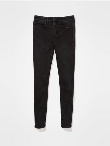 ג'ינס ארוך בגזרה גבוהה / נשים של AMERICAN EAGLE