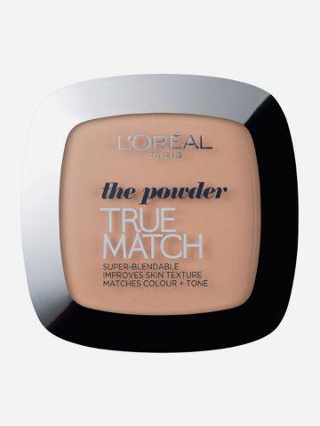 פודרה טרו מאצ' C3 True Match S Powder של L'OREAL PARIS