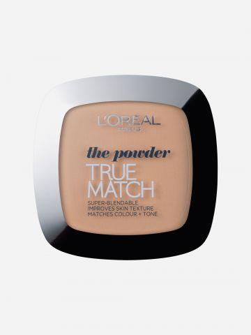 פודרה טרו מאצ' W3 True Match S Powder של L'OREAL