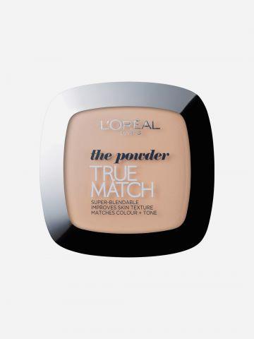 פודרה טרו מאצ' N4 True Match S Powder של L'OREAL