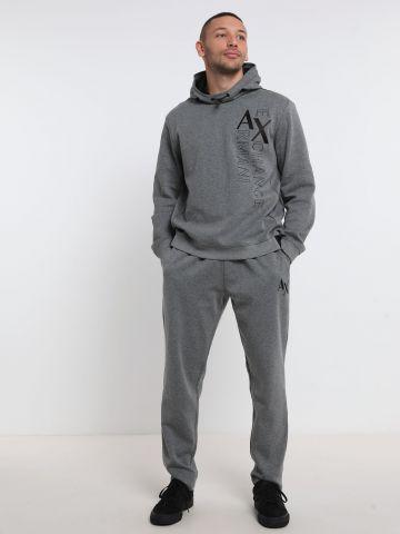מכנסי טרנינג עם לוגו של ARMANI EXCHANGE