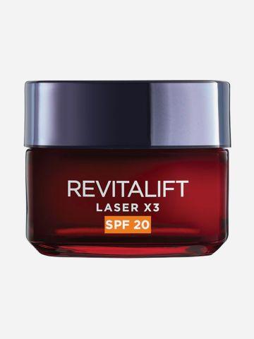 קרם אנטי אייג'ינג Revitalift Laser עם SPF20 של L'OREAL