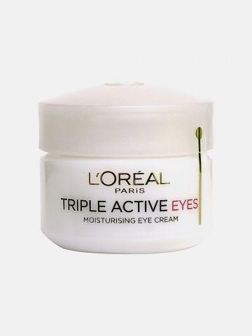 קרם עיניים פעולה משולשת לכל סוגי העור של L'OREAL PARIS