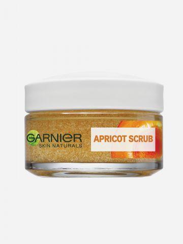 סקראב משמש פילינג לניקוי אינטנסיבי Skin Naturals Apricot Scrub של GARNIER