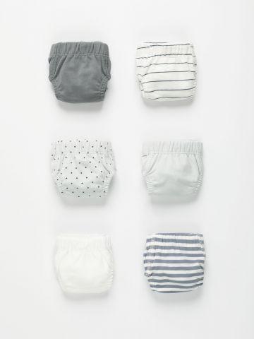 מארז 6 תחתונים בהדפסים שונים / בנים של TERMINAL X KIDS