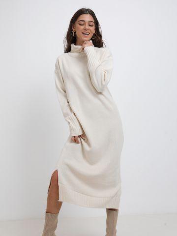 שמלת סוודר גולף באורך מקסי של YANGA