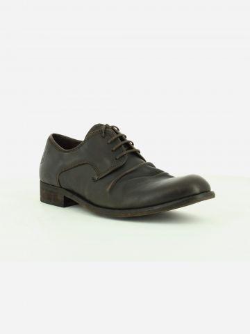 נעלי עור ווש בסגנון מקומט / גברים של FLY LONDON