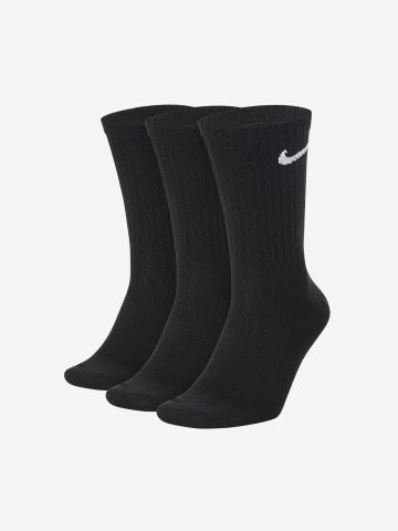 מארז 3 זוגות גרביים עם לוגו Dri-Fit של NIKE