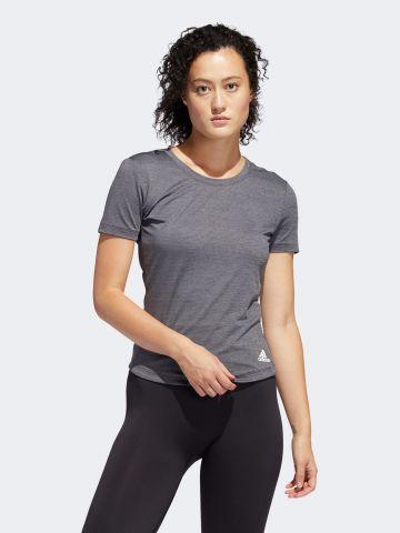 חולצת אימון מלאנז' של ADIDAS Performance